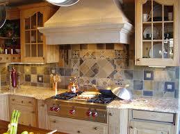 tile tuscan kitchen backsplash idea