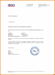 Examples Of Executive Resumes Employment Certificate Letter