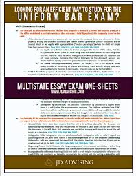 how to study for the multistate essay exam at the last minute mee one sheets lean sheets bar exam one sheets