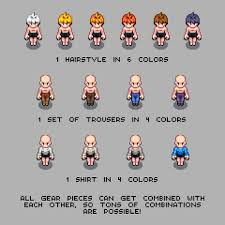 Pixel Character Template