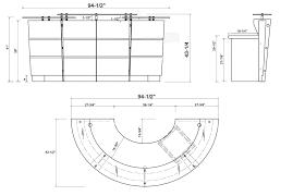 reception desk height homezanin