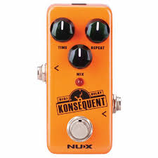 <b>NUX NUX Konsequent Digital</b> Delay Pedal vinyl at Juno Records.