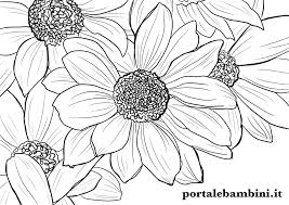 Download and print these free printable flower coloring pages for free. Flower Coloring Pages Printable For Free Portale Bambini