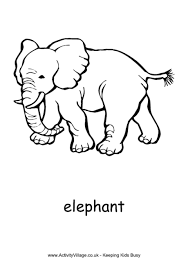 Small Picture Elephant coloring page 2 Kids stuff Pinterest Quilling