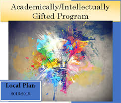 image of the academically intellectually gifted program local plan
