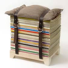 diy space saving furniture. 2 The Magazine Stool Diy Space Saving Furniture A