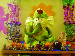 image result for ganesh chaturthi eco friendly decoration ideas