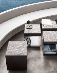 minotti outdoor furniture. The Cube, Simplest Of Shapes, Is Inherent To Nature Elliott Outdoor Table, Crafted Lend Style And Elegance Seating Elements In Minotti Furniture