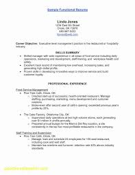 Resume Template For Factory Worker Fresh Tech Resume Templates Fresh