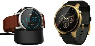 motorola 360 sport. the new design moves crown at 2 o\u0027clock, keeps round shape, but introduces lugs for hassle-free strap exchange. it also comes in two sizes - 42mm motorola 360 sport