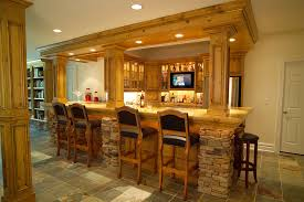 custom home bar furniture. interior design glamorous home bar focus on comfortable extra tall leather stools and custom furniture