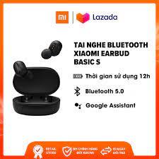 Tai nghe Bluetooth Xiaomi True Wireless Earbuds Basic S - Driver 7.2mm    Bluetooth 5.0   Xem phim và chơi game suốt 15 giờ - Trả góp 0% giá rẻ  499.000₫