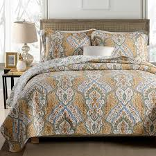 100 cotton quilt sets. Perfect Sets FADFAY Luxury Vintage Quilt Set Paisley Bedding Sets 3Piece Soft 100 Cotton  Intended 100 R
