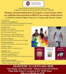 Roma. Dialogo, autodeterminazione dei popoli e cooperazione ...