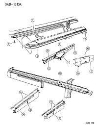 Images of dodge ram van sliding door parts