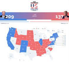 THE STANDARD - เกาะติด #เลือกตั้งสหรัฐ2020 . 12.10 น....
