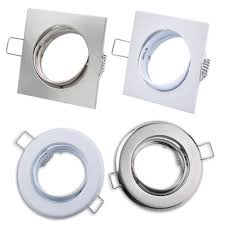 How To Fit Gu10 Light Fittings Details About 4 Type Silver Halogenled Gu10 Mr16 Downlight