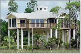 piling pier stilt houses hurricane