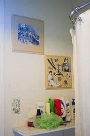 Upcycled Wall Art Diy Decor Upcycling My Bathroom Wall Art Indiainkelephant