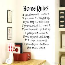 Wall Phrase Decals Wall Arts Wall Art Writing Decor Wall Writing