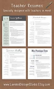 Best 25 Teacher Resumes Ideas On Pinterest Teaching Resume