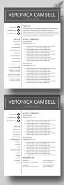 Innovative Resume Templates Extraordinary Resume Template 48 Pages CV Template Professional Resume Design