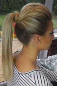 Pony Tail Hair Style best 25 poof ponytail ideas poof hairstyles 3541 by wearticles.com