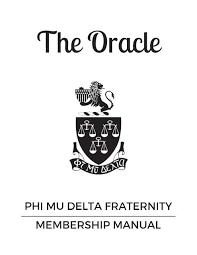 the oracle phi mu delta s membership