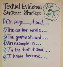 How To Teach Students To Find And Cite Evidence The Seven