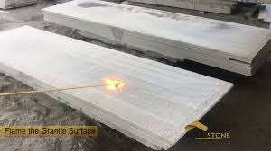 how to make the flamed granite tile fulei stone
