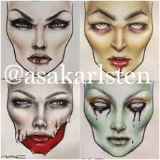91 Best Face Charts Images Makeup Face Charts Mac Face