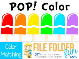 The colouring games that kidsworldfun offer you are a mix of traditional and modern coloring methods. Preschool Color Matching Games File Folder Fun