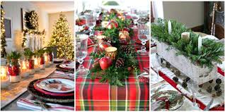 decoration for table. Christmas Table Decoration Ideas Pink For
