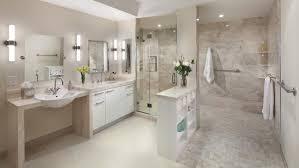 bathroom remodel design ideas. Brilliant Bathroom White And Tan Bathroom With Large Walkin Shower Intended Bathroom Remodel Design Ideas