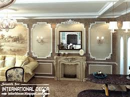 classic english style in the interior english interior wall moldings and fireplace