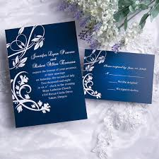 cheap classic blue damask wedding invitations with response cards Discount Blank Wedding Invitations cheap classic blue damask wedding invitations with response cards ewi004 as low as $0 94 cheap blank wedding invitations