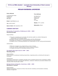 General Resume Templates Free Resume Templates General Cv Examples Uk Sample For Teachers 4