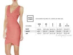 Alexander Mcqueen Dress Size Chart Herve Leger Sizing Guide Lollipuff