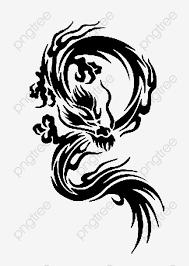 тату дракона китайский дракон татуировка шаблон порез рукопись