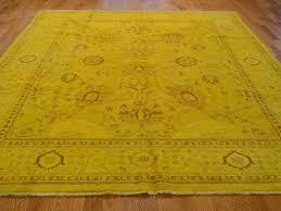 yellow oriental rug