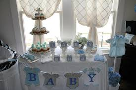 baby shower table decorations for boys | My Baby Shower Cake Table!