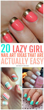 here s a curated list of 20 simple nail art designs for beginners these cute diy