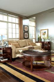 perfect home decoration with ottoman coffee table tray