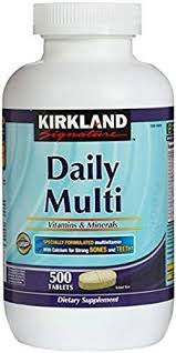 Kirkland Signature Daily Multi <b>Vitamins</b> & Minerals <b>Tablets</b>, 500 ...