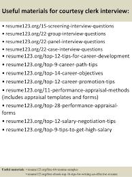 top  courtesy clerk resume samples       useful materials for courtesy clerk