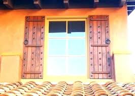 decorative wooden window shutters exterior louvered wood best for ex