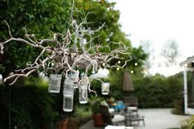 garden oasis electric chandelier contemporary outdoor lighting