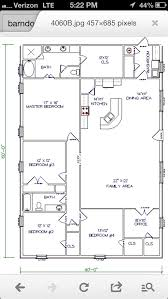 metal barn house plans. Interesting Barn Barn House  Workable Floor PlanAdd Huge Garageshop To End Where  Washroom IsOpen Up The One Bedroom At Of Family Room Make It A Playroom With Metal Plans