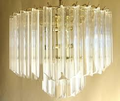 popular vintage mid century modern lucite acrylic chandelier 2 tier wedding inside acrylic chandeliers gallery