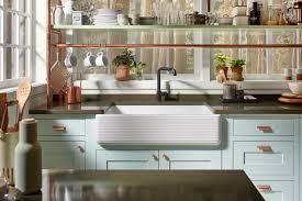 Easy Kitchen Update Apron Front Sinks An Easy Kitchen Update Kohler